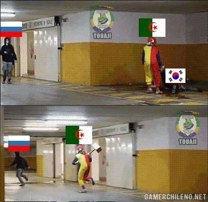Algéria se classificou e ganhou memes