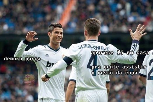 Ao menos Cristiano Ronaldo já tem convites para assistir o restante da Copa