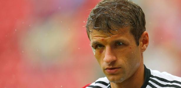 Thomas Müller está com olho roxo