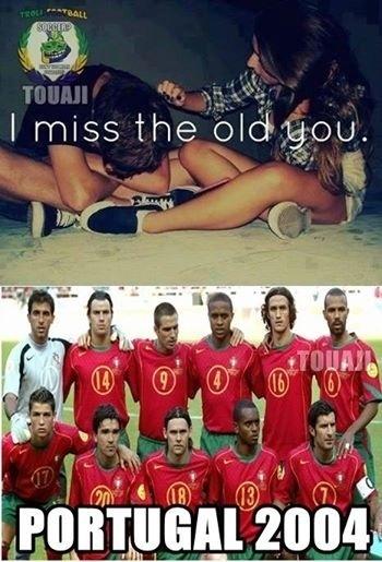 """""""Eu sinto saudades de como você era antes"""". Portugal 2004 deixou torcedores nostálgicos"""