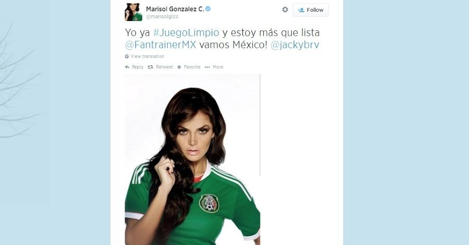 Marisol Gonzalez, repórter mexicana