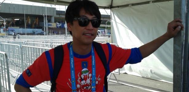 Mr Oh, astro pop da Coreia do Sul, vai ao Itaquerão para ver jogo contra a Bélgica