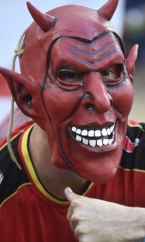 Os diabos vermelhos da Bélgica não assustaram o mundo com o bom futebol prometido, mas se classificou com três vitórias burocráticas
