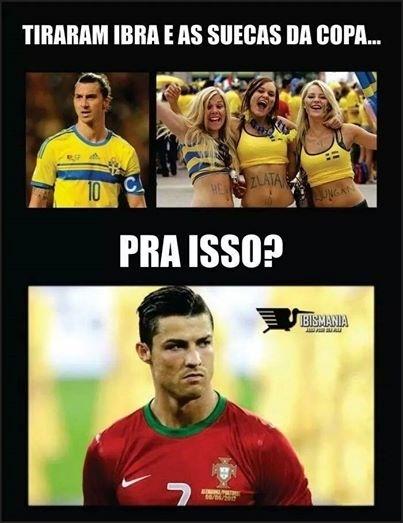 Torcedores lamentam que a Suécia tenha ficado fora da Copa