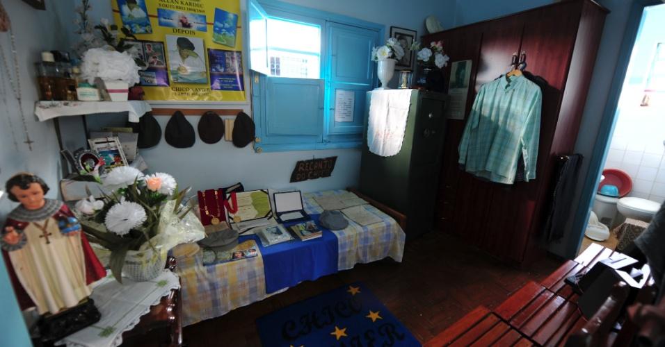 Casa de Memórias e Lembranças Chico Xavier apresenta o último local de vida do ícone do espiritismo