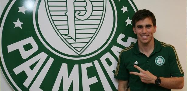 Mouche possui contrato com o Palmeiras até o meio de 2019