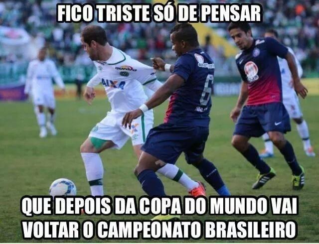 Dia sem jogos já faz internautas lembrarem do Campeonato Brasileiro