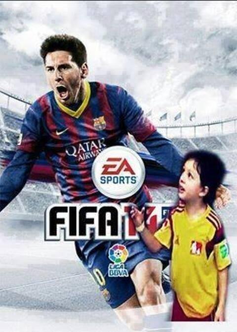 Lionel Messi no jogo Fifa 14