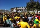 Brasil e Chile se enfrentam pelas oitavas de final da Copa - Jefferson Bernardes/VIPCOMM