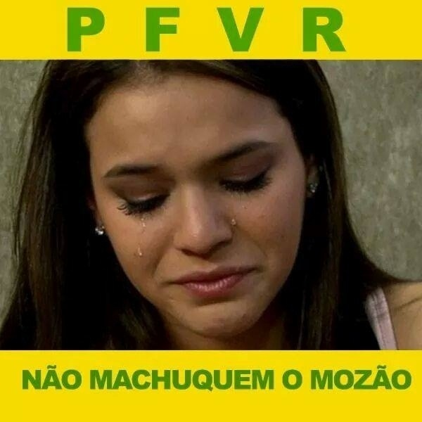 Bruna Marquezine só tem um pedido para fazer neste jogo entre Brasil e Chile