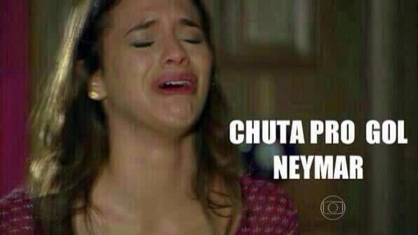 Bruna Marquezine também ficou desesperada com o jogo entre Brasil e Chile