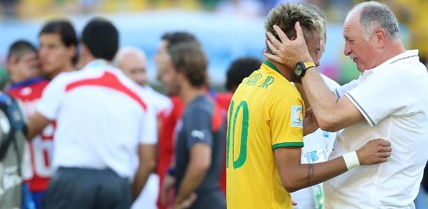 Seleção de Felipão e Neymar aparece com 32% dos votos em uma pesquisa feita no México