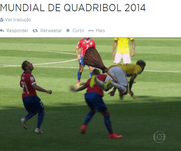 Neymar é a grande estrela do Mundial de Quadribol 2014