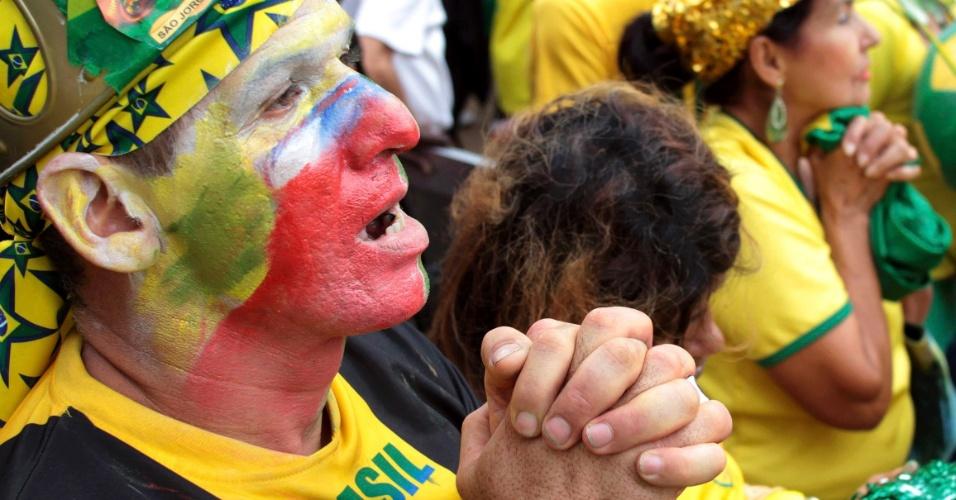 Reação da torcida: Em São Paulo, mais apreensão
