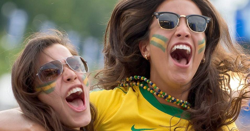 Reação dos torcedores: até na Alemanha tem gente vibrando