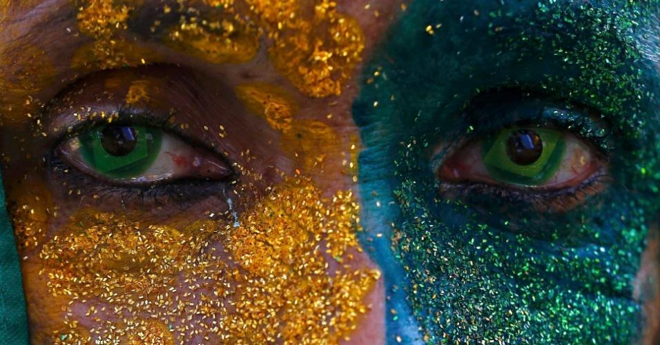 Reações da torcida: apreensão na Fan Fest de São Paulo