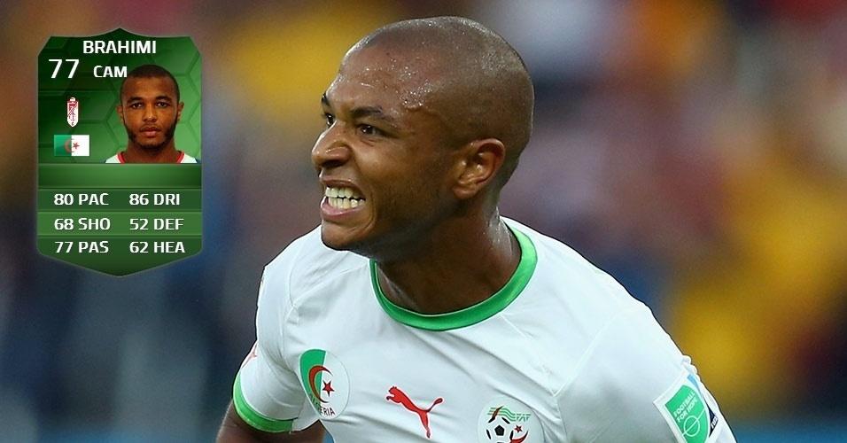 Argélia 1 x 1 Rússia: Yacine Brahimi (75 para 77)