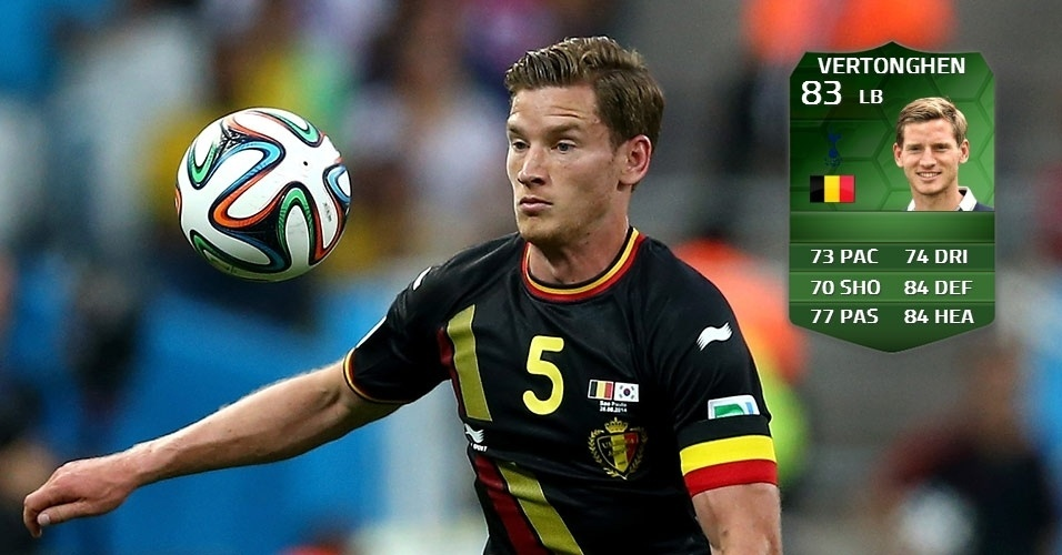Bélgica 1 x 0 Coreia do Sul: Jan Vertonghen (81 para 83)