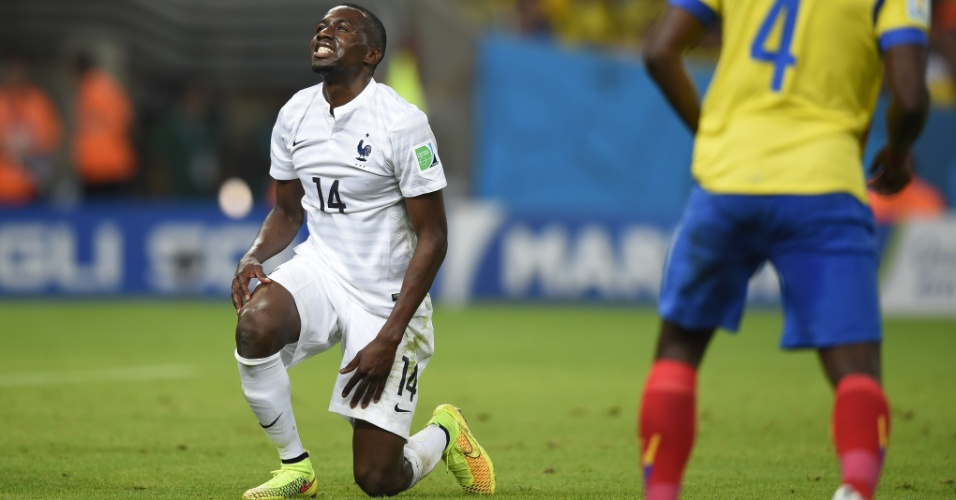 Blaise Matuidi lamenta chance desperdiçada no jogo contra o Equador