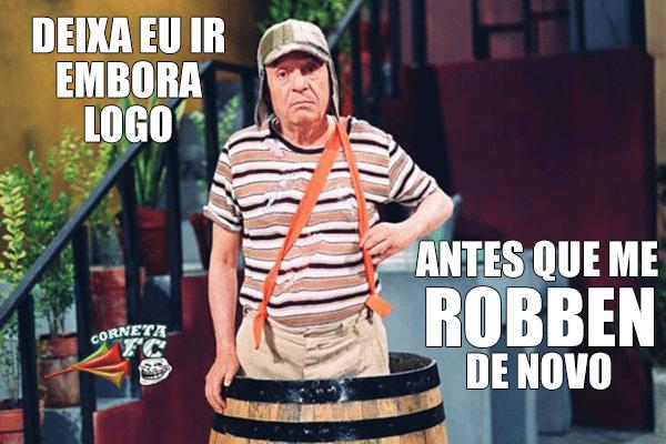 """Chaves quer ir embora logo antes que """"Robben"""" o México de novo"""