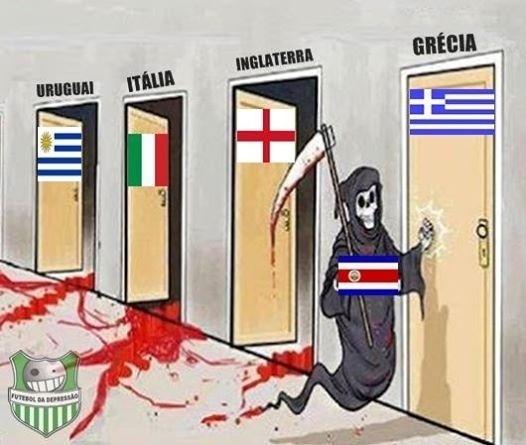 Costa Rica andou fazendo vítimas nesta Copa