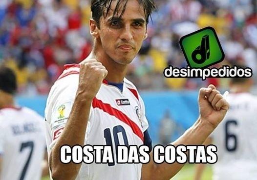 Costa Rica segue tendo a simpatia dos torcedores brasileiros