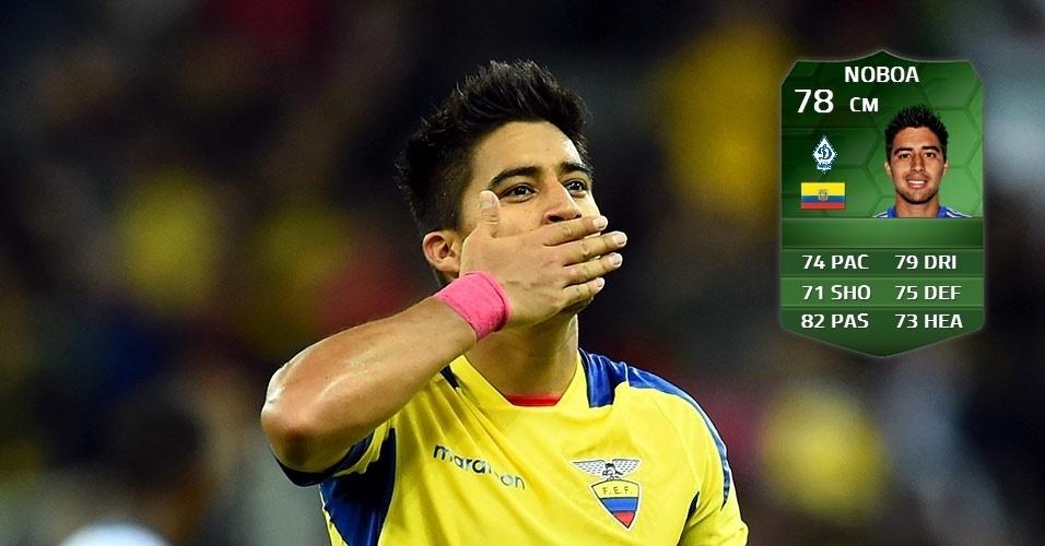 Equador 0 x 0 França: Christian Noboa (77 para 78)
