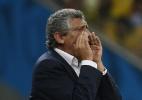 Ex-técnico da Grécia, Fernando Santos é suspenso por 8 jogos após expulsão - EFE/Chema Moya