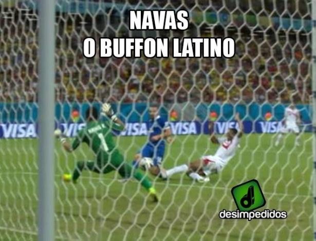 Goleiro já é comparado com Buffon, da Itália