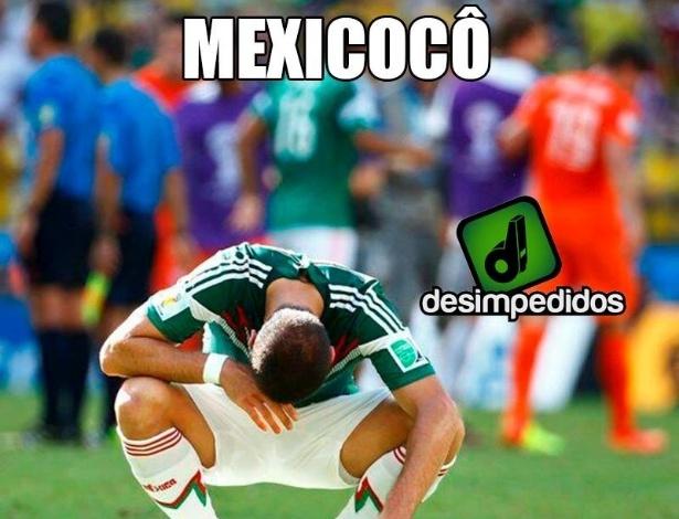 Mexico está fora, e foi zoado por isso