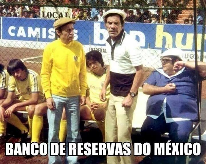 México mostra banco de reservas cheio de opções