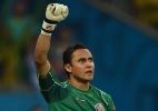 "Goleiro que foi destaque na Copa confirma que está ""muito perto"" do Real - AFP PHOTO / PEDRO UGARTE"