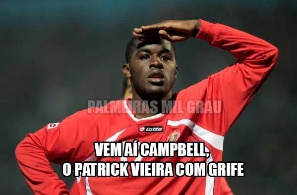 Palmeirenses também compararam jogador da Costa Rica com atleta do time