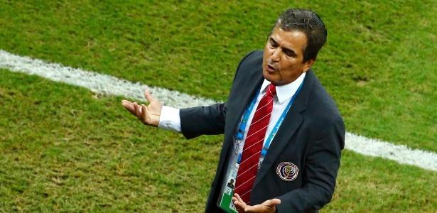 Técnico colombiano, Jorge Luis Pinto, não permanecerá no comando da Costa Rica após a Copa do Mundo