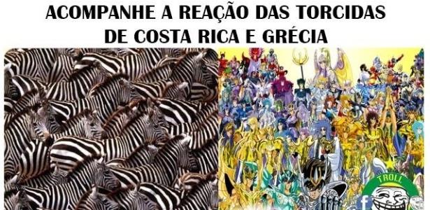 Zebras contra Cavaleiros do Zodíaco, quem leva a melhor?