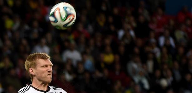 Mertesacker atuou 104 vezes pela seleção alemã