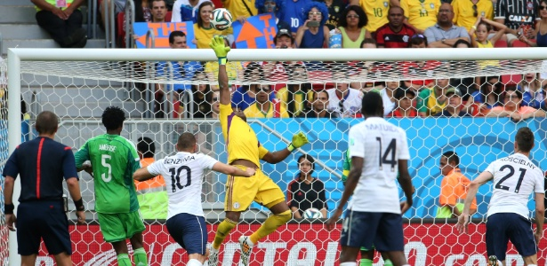 A Nigéria,foi eliminada nas oitavas da Copa pela França