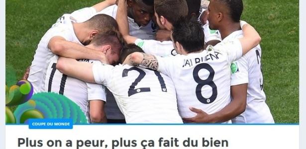 Mídia francesa mantém certo tom de desconfiança sobre a seleção na Copa