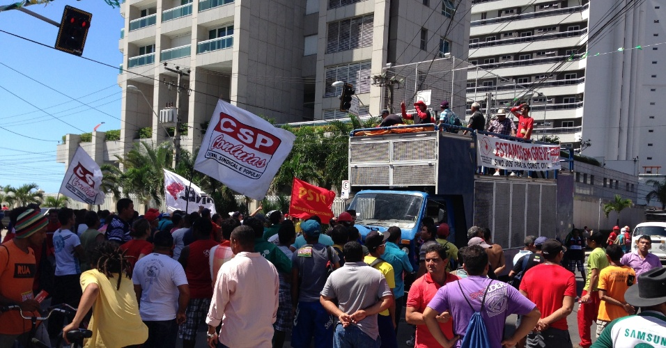 Protesto em Fortaleza