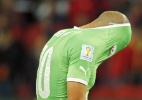 Desempenho da Argélia vira motivação para próxima Copa do Mundo - EFE/EPA/ARMANDO BABANI
