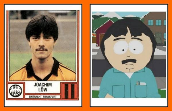Técnico da Alemanha nos tempos de jogador: parecia personagem do South Park