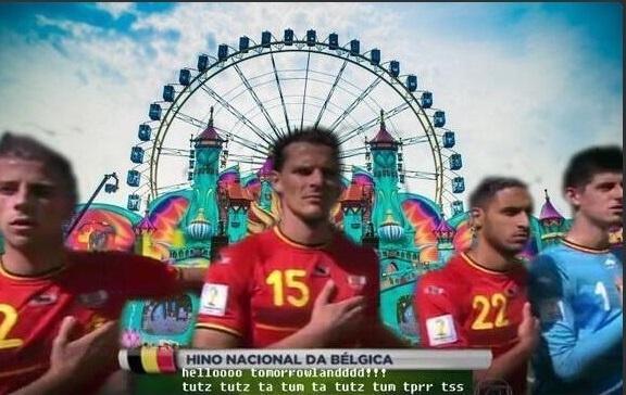 Bélgica ganhou um hino versão Tomorrowland