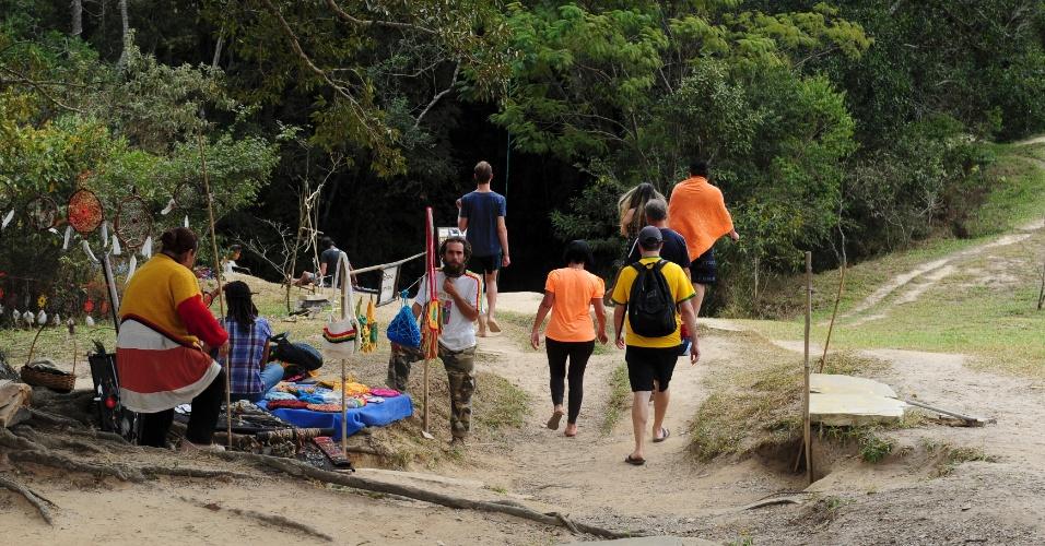 Além da questão mística, São Tomé das Letras oferece atrações ligadas à natureza, como cachoeiras e grutas