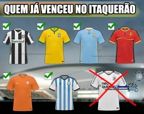 Corinthians ainda não venceu no próprio estádio, e virou motivo de piadas