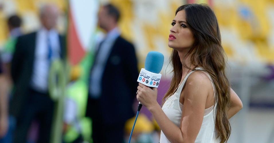 Jornalista espanhola Sara Carbonero é mulher do goleiro Iker Casillas