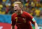 Vitória em emocionante prorrogação coloca geração de ouro belga nas quartas - AFP PHOTO/ FRANCISCO LEONG