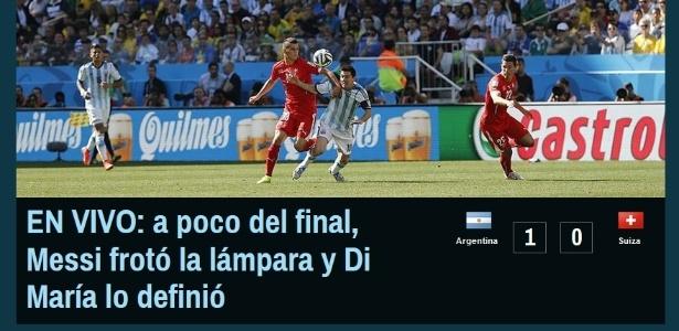 Canchallena brincou com genialidade de Messi, autor do passe para o gol decisivo de Di María