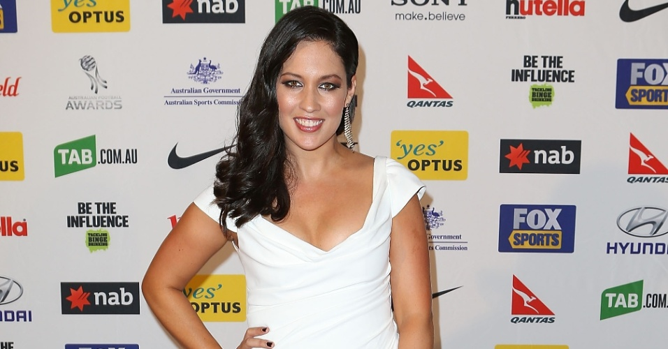 Melanie McLaughlin, repórter australiana
