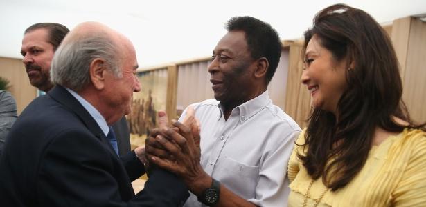 Pelé defendeu que Felipão continue à frente da seleção brasileira