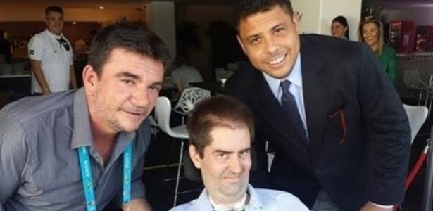 Ricky Ribeiro realiza sonho e vai ao estádio Itaquerão ver Argentina e Suíça ao lado de Andrés Sanchez e Ronaldo
